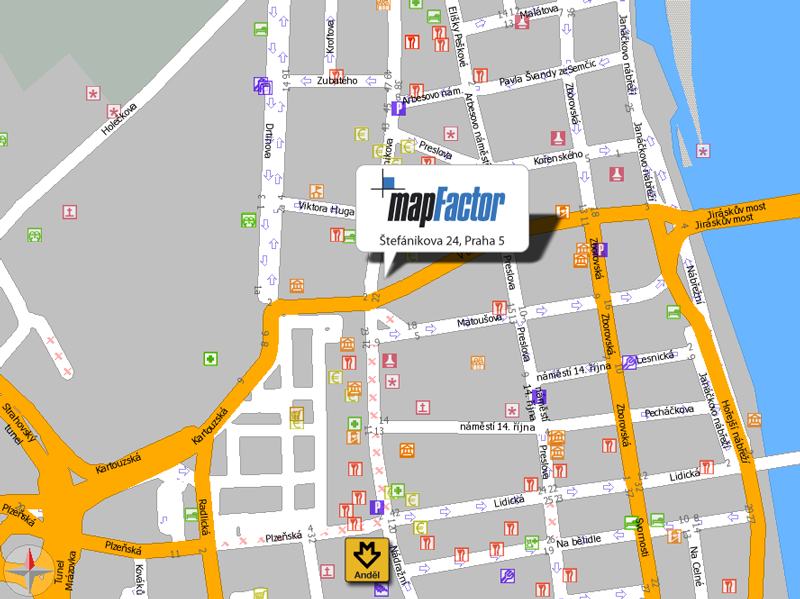 about contact mapfactor navigation and tracking